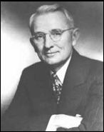 New Thought Author Dale Carnegie